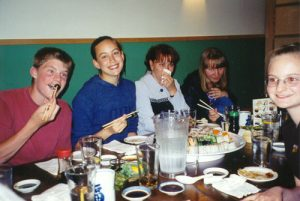 Pictures from our dinner at Godaiko